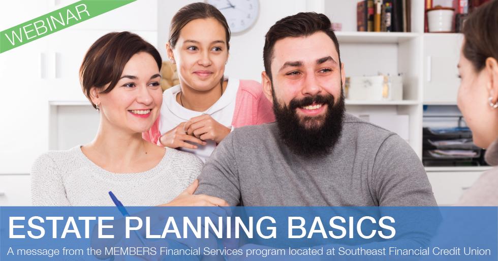 Estate Planning Basics Webinar