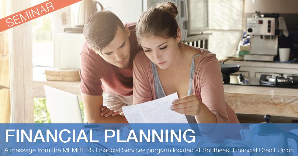 Financial Planning Basics Seminars and Webinar