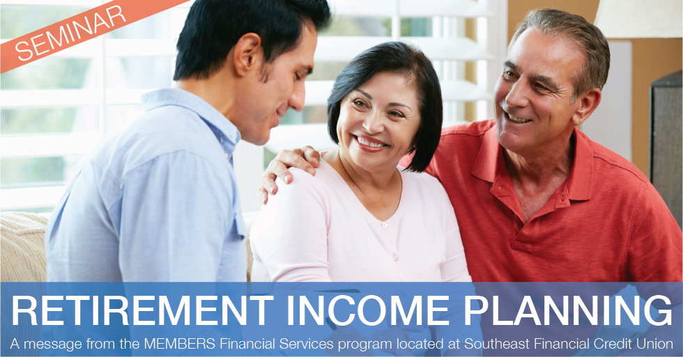 retirement income planning seminar